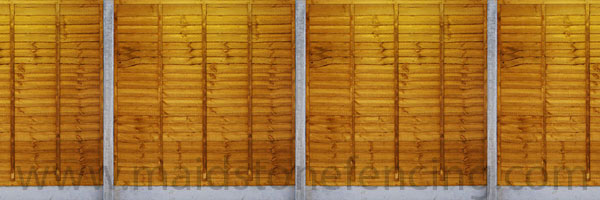 Overlap Panel, fence, sustainable, fencing